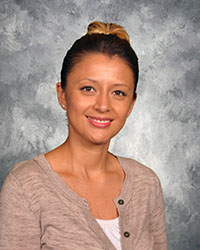 Photo of Attendance Secretary Maria Rodriguez